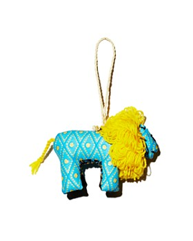 TO THE MARKET - Kitenge Lion Ornament