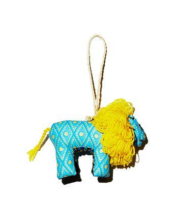 TO THE MARKET - Kitenge Lion Ornament