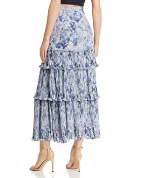 Amur - Kola Floral A-Line Skirt