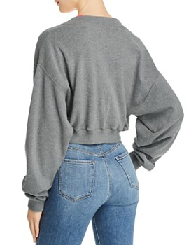 alexanderwang.t - Cropped Layered Sweatshirt