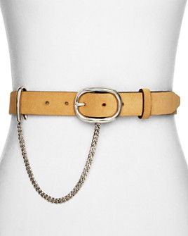 rag & bone - Women's Wingman Suede Belt
