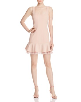 BCBGMAXAZRIA - Crêpe Point d'Esprit Dress