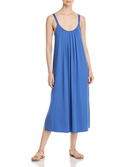 NIC and ZOE - Scoop-Neck Pleated Midi Dress