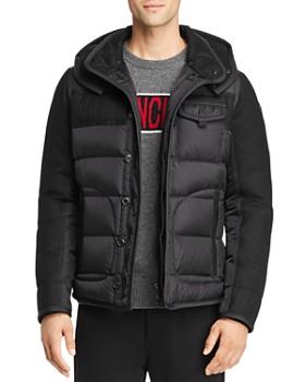 Moncler - Ryan Mixed-Media Down Jacket