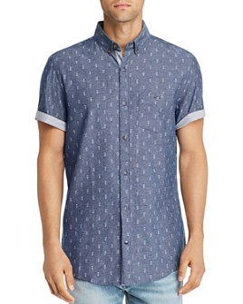 Sovereign Code - Town Chambray Regular Fit Button-Down Shirt