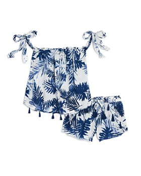 9eaec1daad Vintage Havana - Havana Girls' Palm-Print Top & Shorts - Big Kid ...