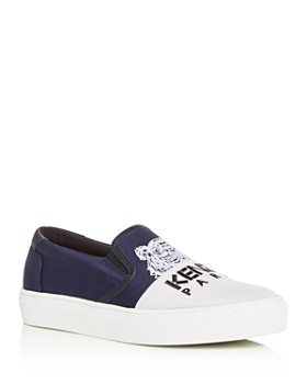 Kenzo - Women's Special Color-Block Slip-On Sneakers