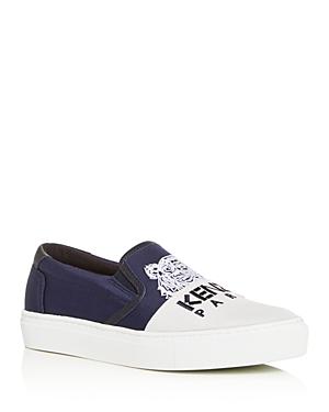 Kenzo Women's Special Color-Block Slip-On Sneakers