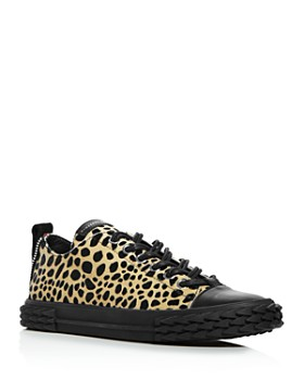 Giuseppe Zanotti - Men's Animal Print Blabber Sneakers