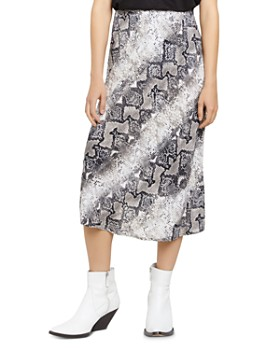Sanctuary - Snakeskin Everyday Midi Skirt