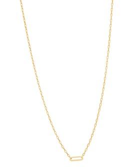 """Gorjana - Parker Charm Necklace, 15"""""""