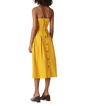 Whistles - Duffy Linen Midi Dress