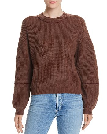 Joie - Roshan Wool & Cashmere Ribbed Sweater