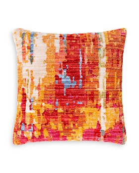 "Surya - Germili Throw Pillow Orange, 21"" x 21"""
