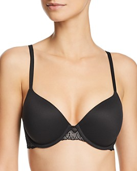 Calvin Klein - Perfectly Fit Etched Lace Lightly Lined Underwire Bra