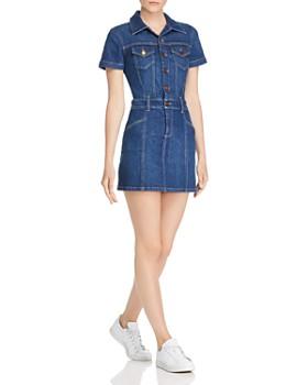 Alice and Olivia - Amazing Denim Mini Dress