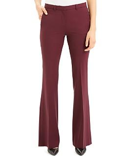 Theory - Demitria Wool-Blend Flared Pants