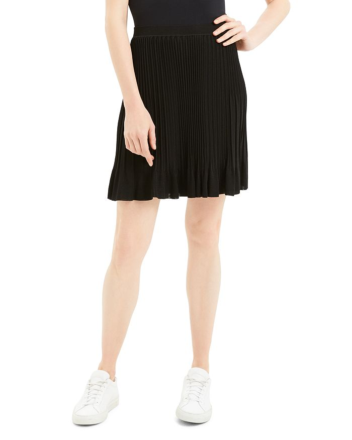 Theory - Pleated Knit Skirt