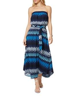 Ramy Brook - Sylvia Strapless Printed Maxi Dress