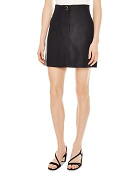 Sandro - Gisel A-Line Mini Skirt