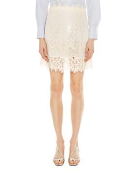 Sandro - Filipine Lace Mini Skirt