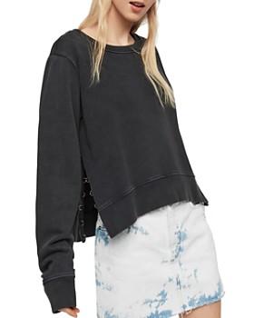 ALLSAINTS - Daner Split-Side Sweatshirt