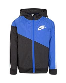 Nike - Boys' Core Color-Block Windbreaker Jacket - Little Kid