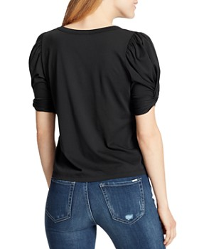 Ella Moss - Linnea Twist-Sleeve Top