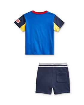 Ralph Lauren - Boys' Color-Block Tee & Shorts Set - Baby
