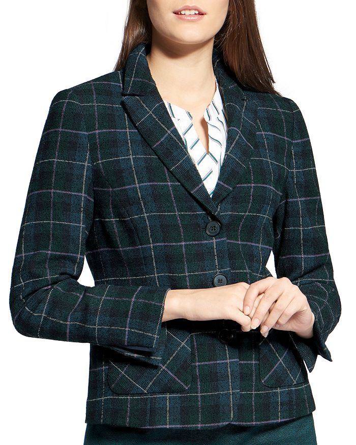 BASLER - Plaid Blazer