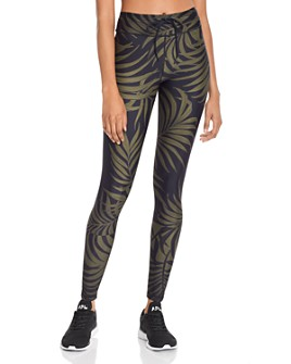 THE UPSIDE - Leaf Print Leggings - 100% Exclusive