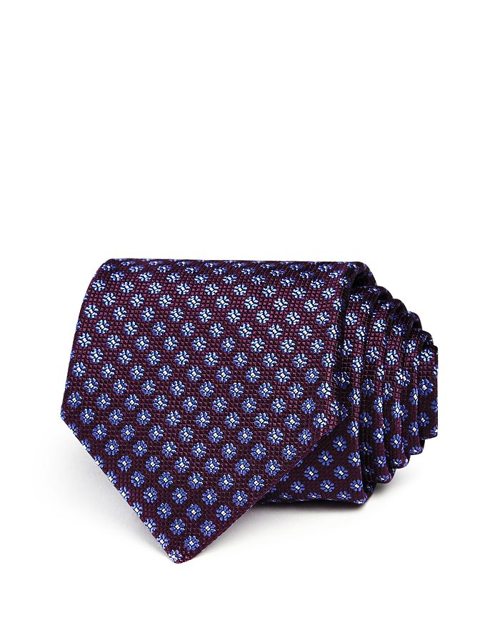 Canali - Textured Flower Classic Tie