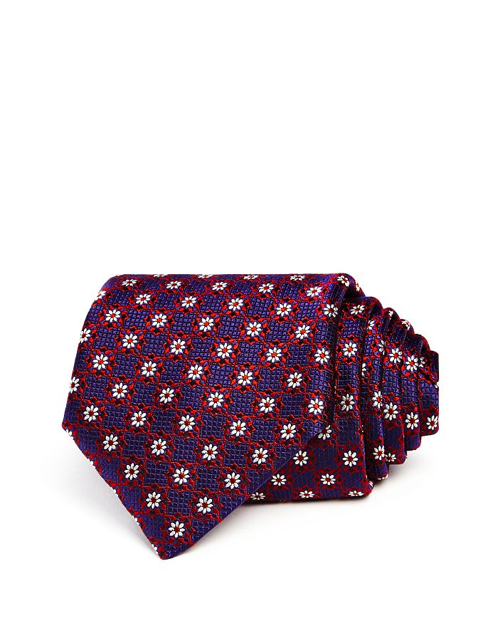 Canali - Micro Flower Neat Classic Tie