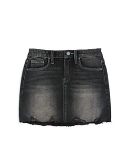 BLANKNYC - Girls' Distressed Denim Skirt - Big Kid