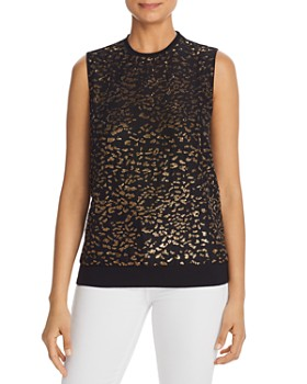 Elie Tahari - Azelia Sequined Blouse