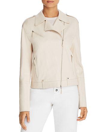 Lafayette 148 New York - Bernice Leather Moto Jacket