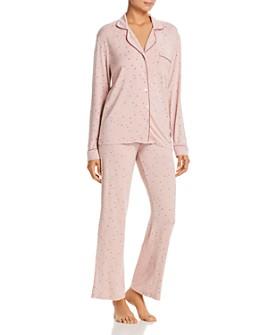 UGG® - Lenon Star-Print Jersey Knit Pajama Set
