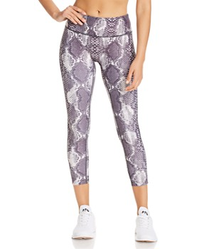 PRISMSPORT - High-Rise Printed Leggings