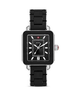 MICHELE - Wrapped Deco Sport Watch, 34mm x 36mm - 100% Exclusive