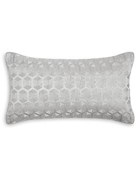"Hudson Park Collection - Aurora Hexagon Decorative Pillow, 12"" x 22"" - 100% Exclusive"