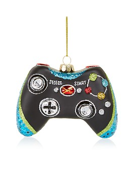 Bloomingdale's - Game Controller Glass Ornament - 100% Exclusive