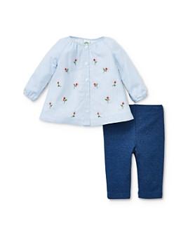 Little Me - Girls' Rosebud Top & Leggings Set - Baby