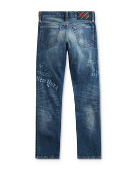 Ralph Lauren - Boys' Athletic Graphic Jeans - Big Kid