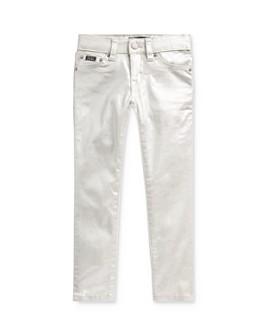 Ralph Lauren - Girls' Tompkins Metallic Skinny-Fit Jeans - Little Kid
