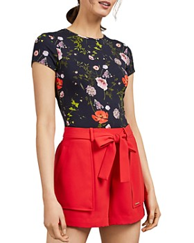Ted Baker - Jinene Hedgerow-Print Tee