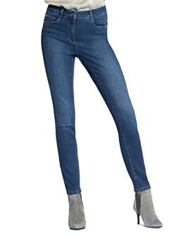 BASLER - Skinny Jeans in Blue Denim