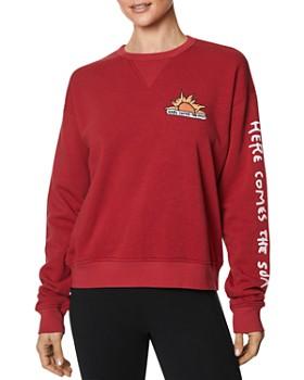 Betsey Johnson - Sun Vintage Sweatshirt