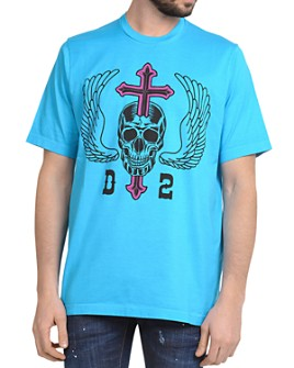 DSQUARED2 - Skull Graphic Tee