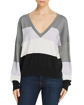Nation LTD - Jolie Striped Boxy Sweater