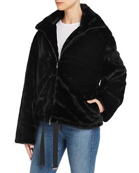 Rebecca Minkoff - Brigit Faux-Fur Jacket